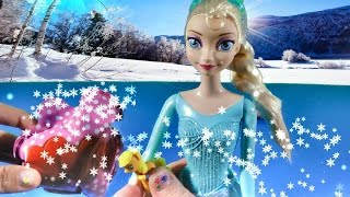 Disney Frozen Queen Elsa Doll Open Easter Eggs Surprise Blind Bags My Little Pony Review MLP Sparkle