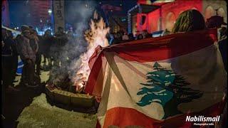 ارفع علمك بالعالي 🇱🇧 و بالثورة طل قبالي ... صوتك يا بلادي ثورة و الحر ينادي ثورة  #ثورة_لبنان 🇱🇧