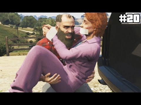 GTA 5 - TREVOR... WHAT ARE YOU DOING? D: - (GTA V Lets Play #20)