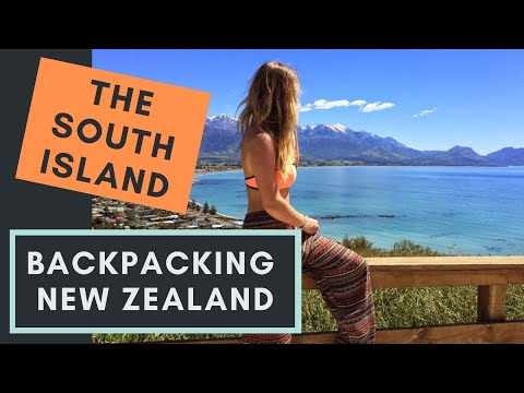Backpacking New Zealand (South Island) GOPRO HERO 3+ | Where's Mollie?