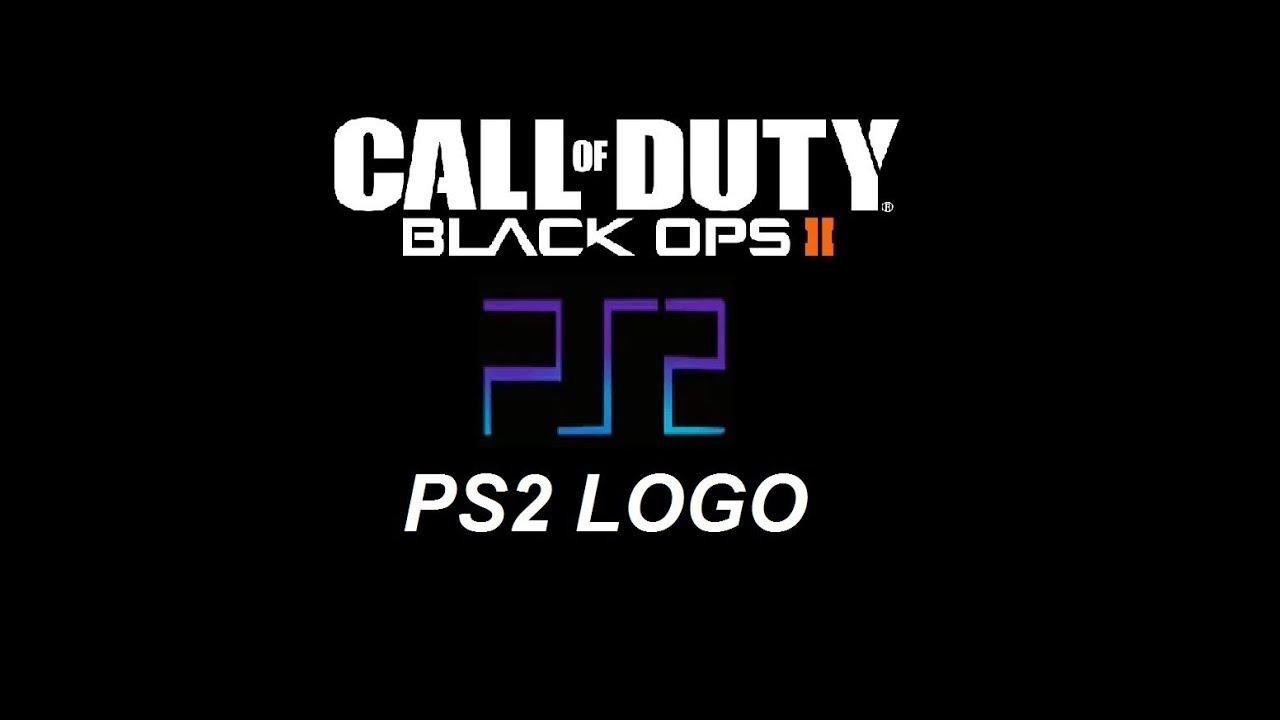 Black Ops 2 Playstation 2 Ps2 Logo Emblem Youtube