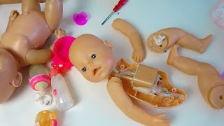 Ремонт куклы БЕБИ БОН (Baby Born). Cмотрим что внутри, как работает и как починить