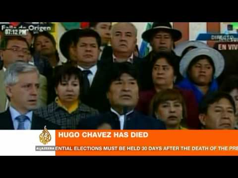 World leaders react to Chavez