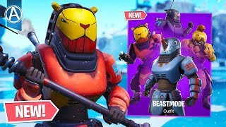 "NEW ""BEASTMODE"" SKIN Gameplay! // Pro Console Player // 1950+ Wins (Fortnite Battle Royale LIVE)"