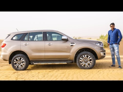 Ford Endeavour Facelift - Still The Best SUV | Faisal Khan