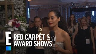 Tracee Ellis Ross Wins Big At The 2017 Golden Globes | E! Live From The Red Carpet