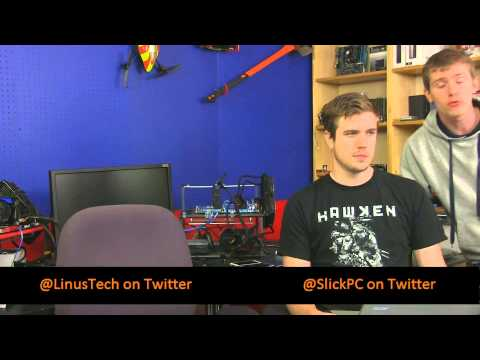 Linus Tech Tips Live Show Archive - March 15, 2013