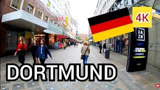 ⁴ᴷ DORTMUND city walking tour 🇩🇪 Germany (Deutschland) 4K