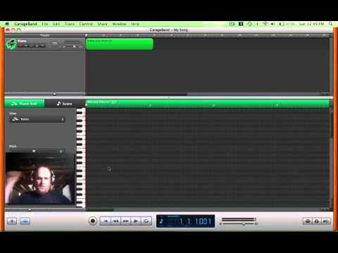 GarageBand Tutorial, Mapping Notes, No Keyboard Needed!