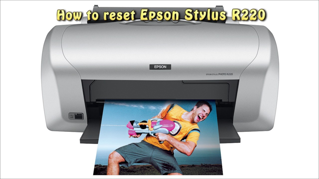 Reset Epson R220 Waste Ink Pad Counter