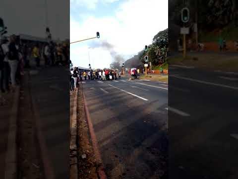 27 February 2018 Mangosuthu University Of Technology strike