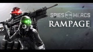 (HD067) Splinter Cell Blacklist - Spies vs Mercs - Kill montage