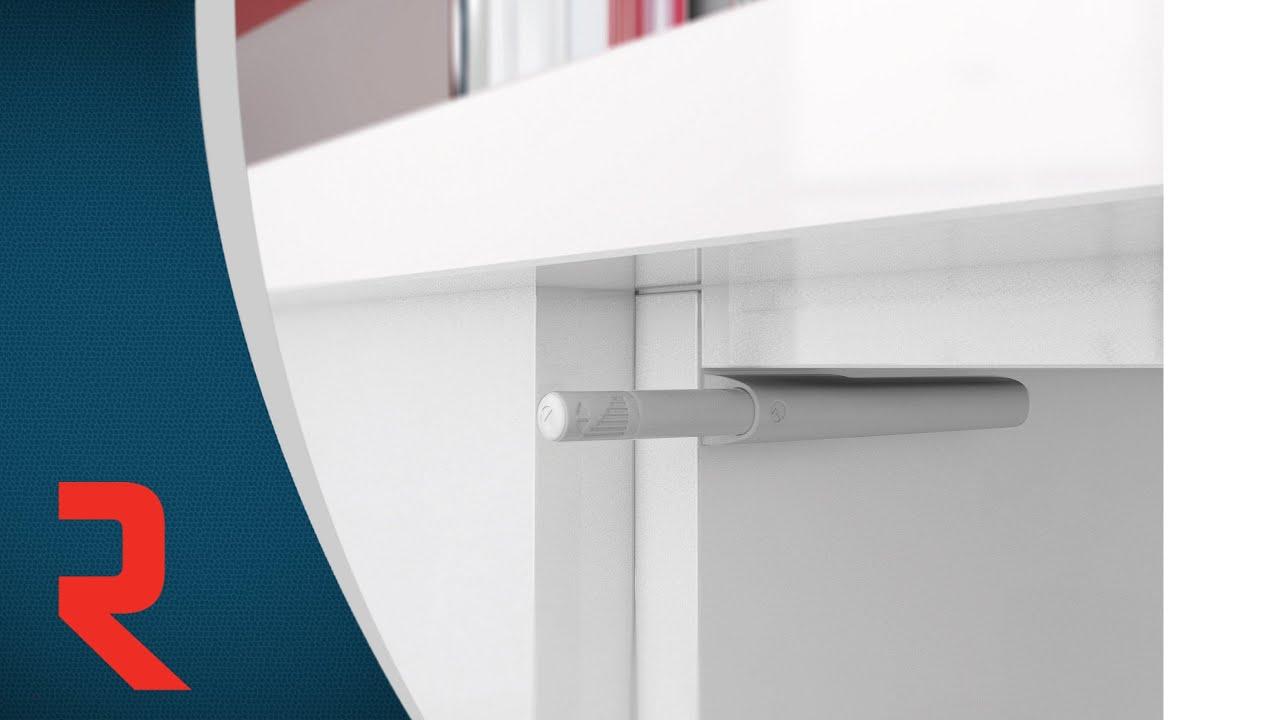 Dressing Ikea Angle Sans Porte loquet magnétique k push
