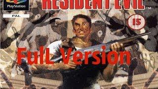 Resident evil 1 Полное прохождение
