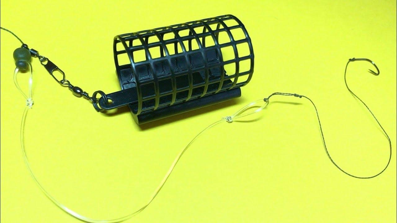 Фидерная оснастка инлайн со съемной бусиной. Фидер для начинающих. Лайфхаки и самоделки для рыбалки