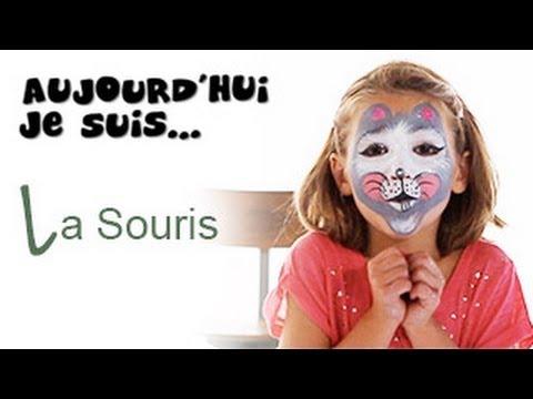 maquillage souris tutoriel maquillage enfant facile