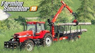 Pierwsza wycinka drzew - Farming Simulator 19   #15