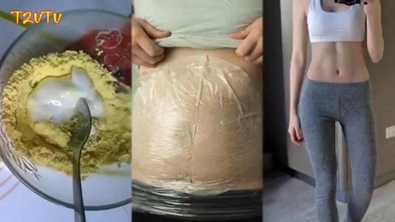Tự làm kem đánh tan mỡ bụng bèo nhèo chẳng cần ăn kiêng hay tập thể dục