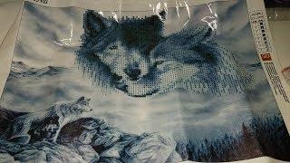 видео Алмазная вышивка-мозаика