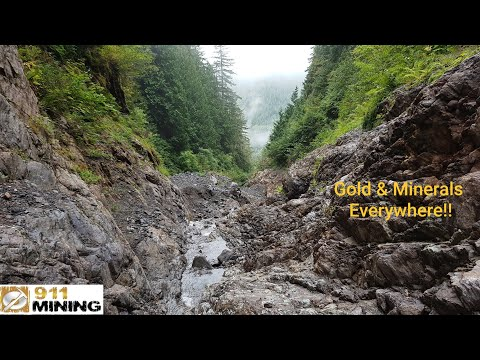 Prospecting A Gold Rich Canyon! (Part 2)