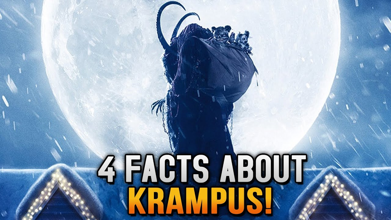 4 Facts About Krampus The Christmas Devil - YouTube