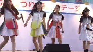 福生七夕まつり2015 SiAM&POPTUNe(シャムポップチューン) ミラクル☆→ハ...