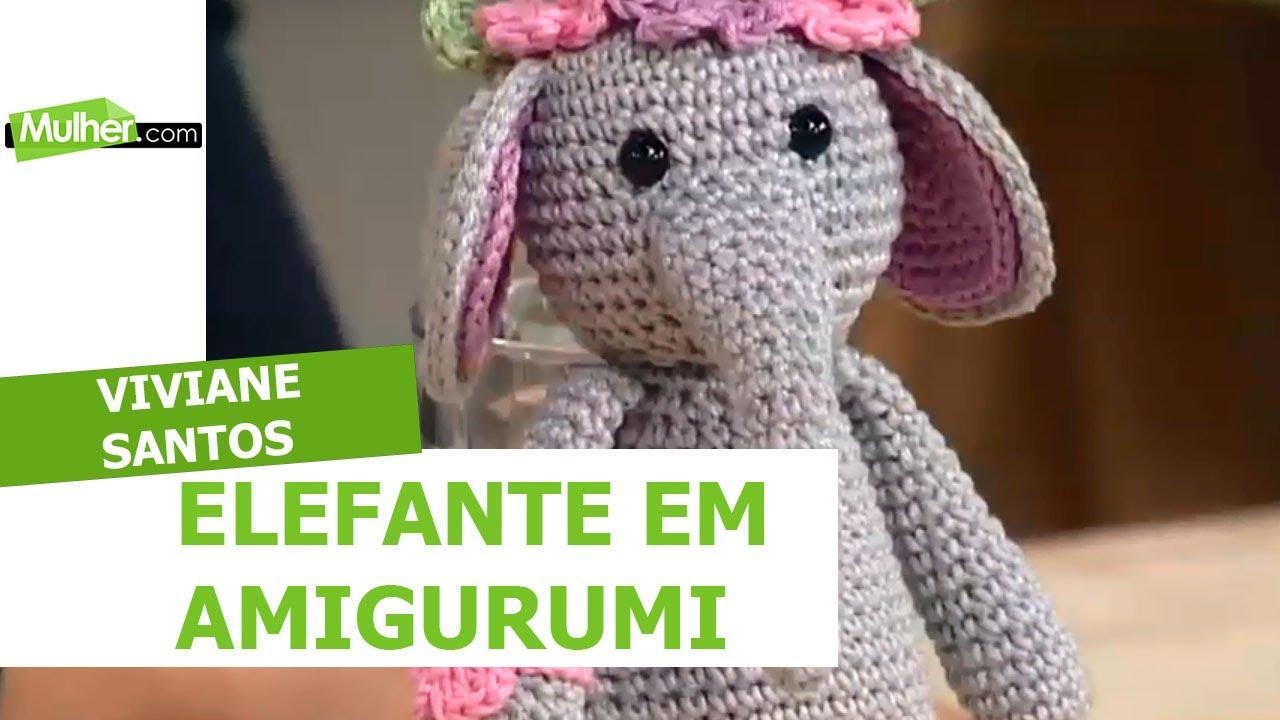 Sonaja de crochet de elefante. Elefante amigurumi. Regalo para ... | 720x1280