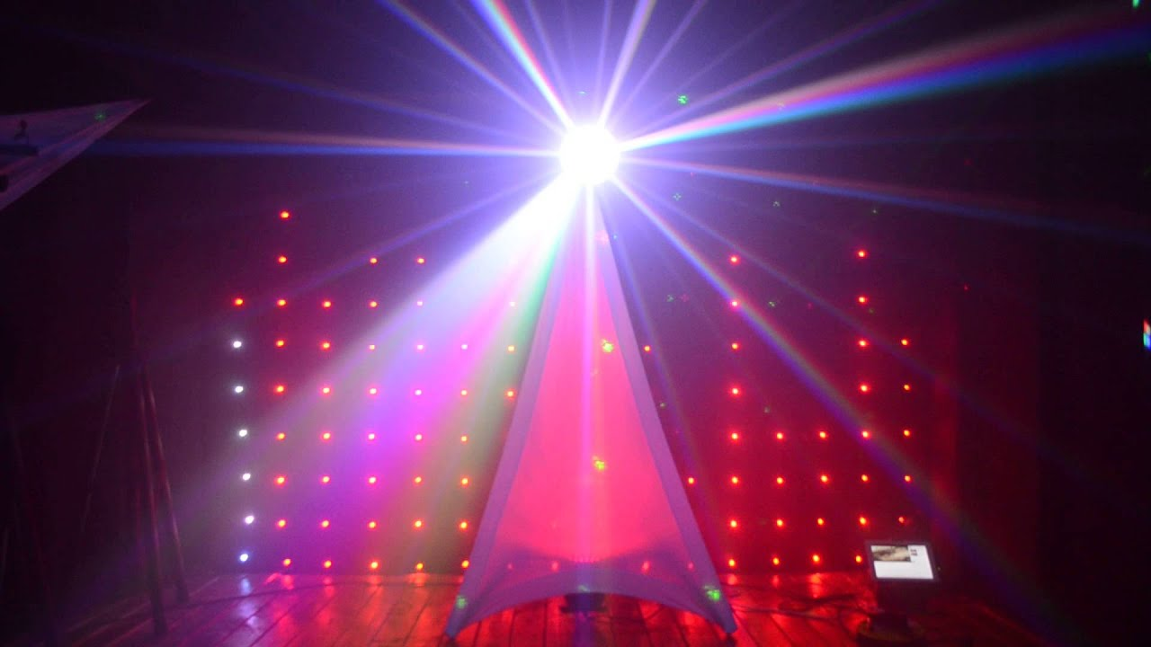 Dj Wrapz White Single Sided Tripod Cover ADJ Jellydome Vision Curtain Backdrop YouTube