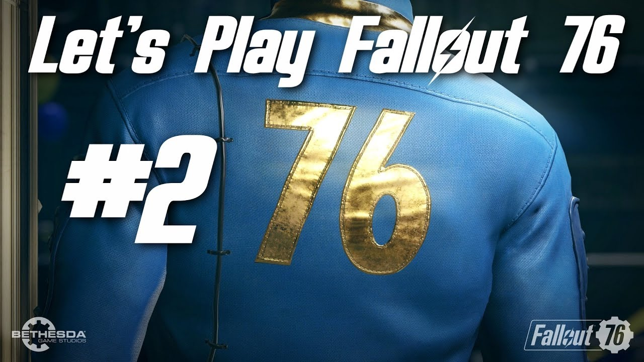 Let's Play Fallout 76 Part 2 - Wildlife Wrangling