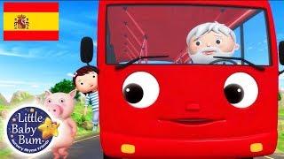 Canciones Infantiles | Las Ruedas del Autobús P.14 | Dibujos Animados | Little Baby Bum en Español