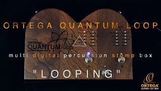 Ortega Guitars & Percussion | Quantum Loop | Looping & Overdubbing |