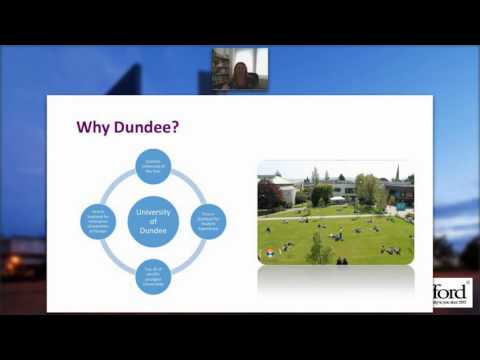 Dundee M.Ed Middle East Webinar - June 22, 2016