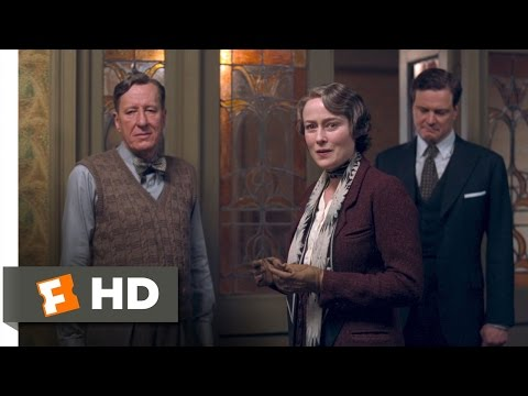 The King's Speech 1012 Movie   I Don't Think You Know King George VI 2010 HD