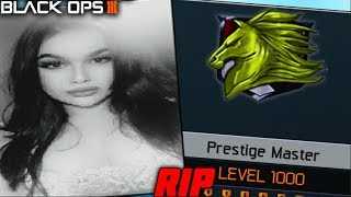 RIP HER LEVEL 1000...