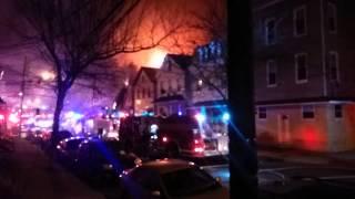 295 Lafayette St. House Fire. Newark NJ 1