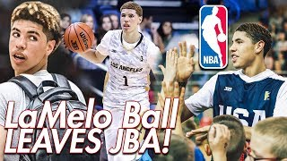 LaMelo Ball IS GOING BACK TO HIGH SCHOOL!! Leaves JBA for NBA Path!