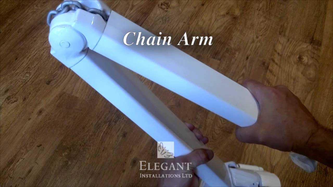 Retractable Awning Folding Arm Youtube