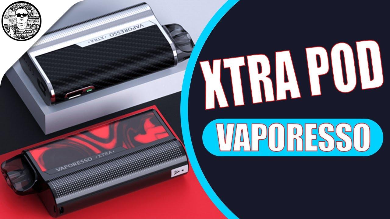 Vaporesso XTRA Pod Kit Маленький Красаучег