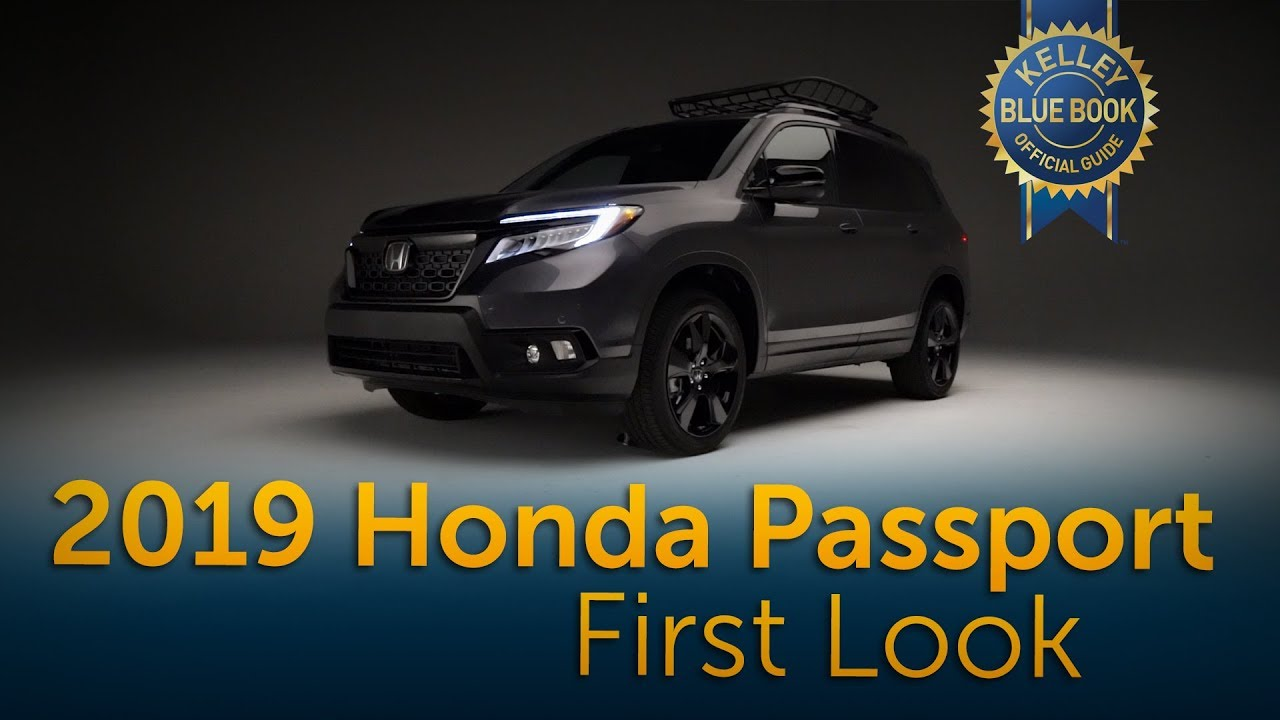 2019 Honda Passport First Look Youtube