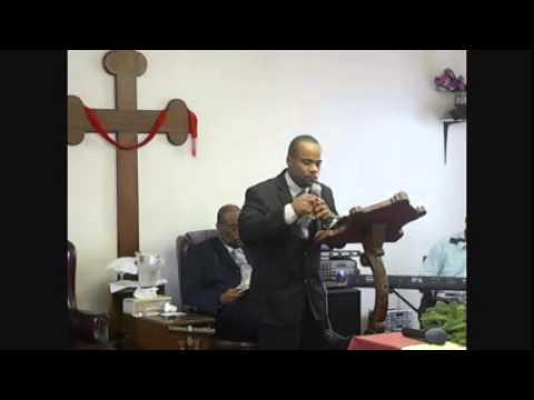 Pastor Michael Barrett Jr - Sermon date 01/08/14
