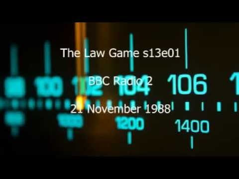 The Law Game s13e01