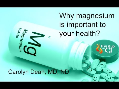 A Health Guide to Magnesium (Carolyn Dean)
