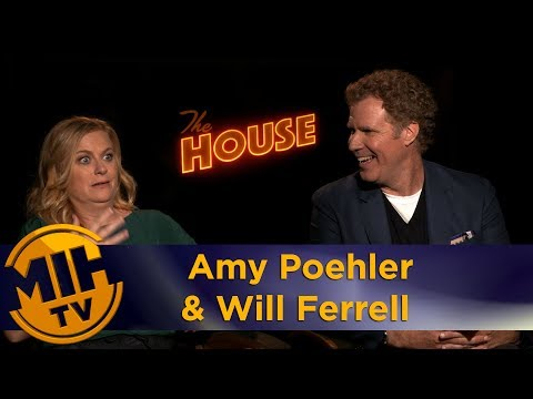 Amy Poehler & Will Ferrell The House Interview
