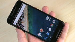 LG Nexus 5X: распаковка и первая настройка (unboxing)