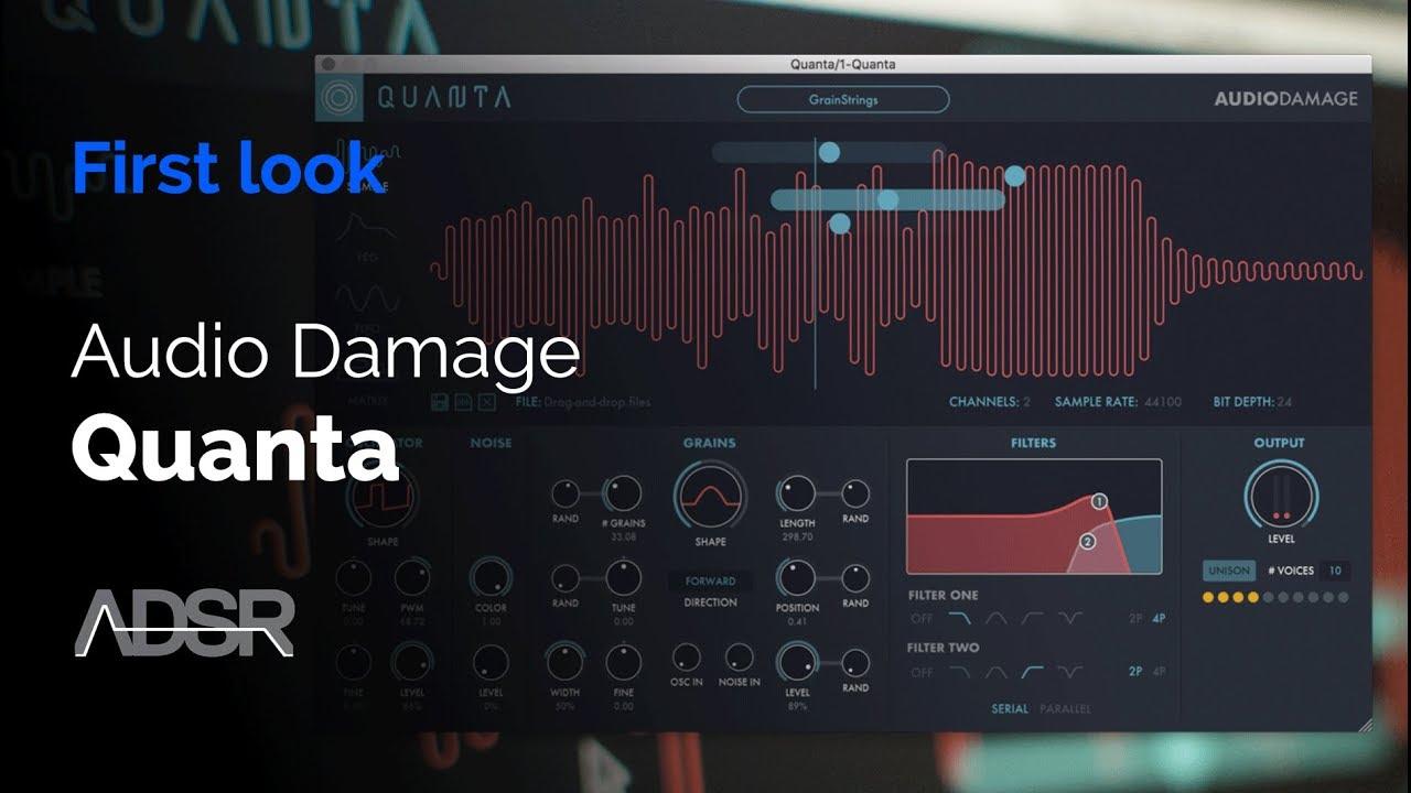 audio damage quanta ios