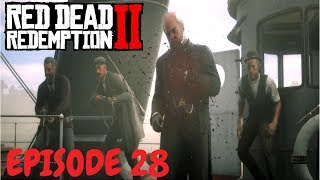 RED DEAD REDEMPTION 2: MR.CORNWALL! Pinkertons, Shootout, Horse Chase, Indians, Eagle Flies, Ninja!