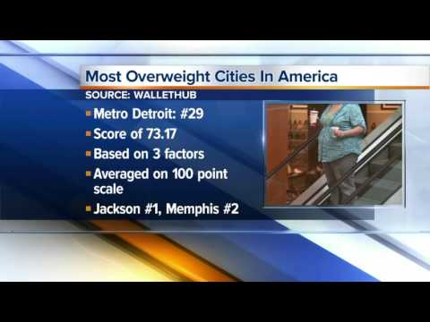Detroit Named To List Of Fattest Cities In U.S.