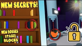 BUILD A BOAT *NEW* SECRETS (OUT NOW!) ROBLOX