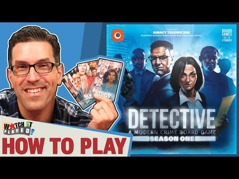 Detective: Season One - How To Play