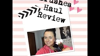 eBay Aliexpress Make Up Brushes Haul/Review~Cara Reen